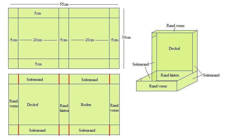 anleitungen bedruckte boxen zum basteln anleitungen vorlagen und drucktechniken. Black Bedroom Furniture Sets. Home Design Ideas