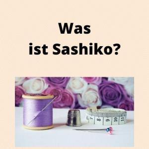 Was ist Sashiko